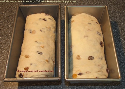 Rozijnenbrood met kaneelspiraal