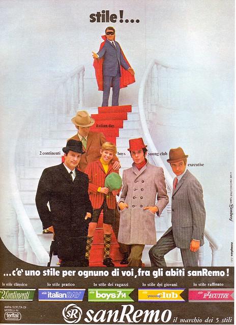 pubblicità - anni 60s - sanremo