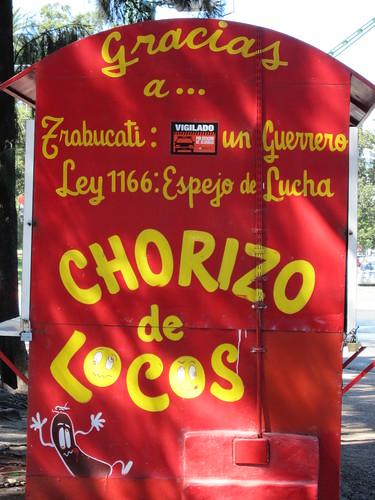 choripan van, Buenos Aires