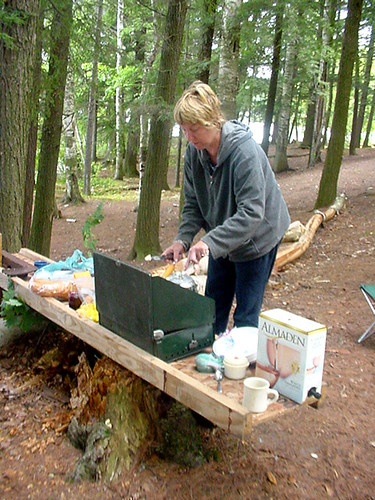 Tent Camping Meals