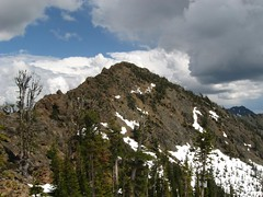 Not Hinkhouse Peak from Ingalls Pass