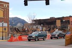 (fotohayes) Tags: aftermath montana bozeman downtown mt explosion 2009 naturalgas brianhayes bozemanmontana northwesternenergy