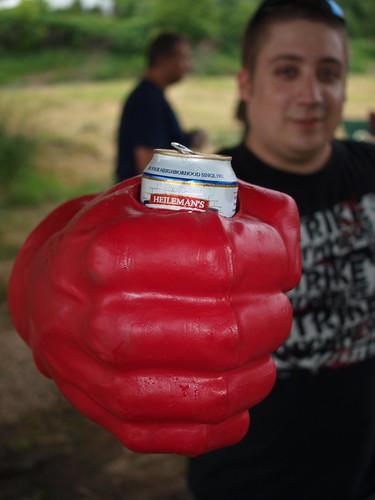 Hulk Hand Coozie
