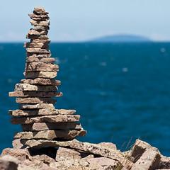 Pile of rocks (Hkan Dahlstrm) Tags: sea rock rocks sweden horizon schweden east sverige land bl sude svezia jungfrun kalmarlan gronvik gronvik