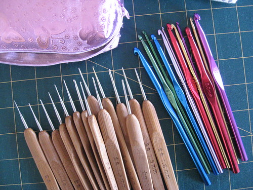 Crochet hooks by you.