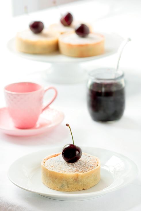 Bakewell Cherry Tarts