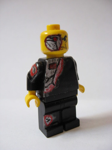 cyborg custom minifig