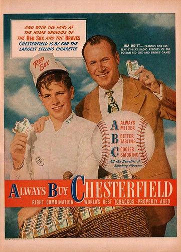 Chesterfield Cigarettes Ad