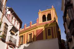 Seville street scene (PierTom) Tags: spain seville andaluca