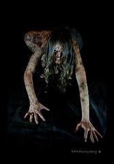 Creeping Death II (RakelFromHell!!!) Tags: dark death darkness zombie fear muerte madness insanity miedo creeping oscuridad reptar oscuro locura oscura demencia flickraward reptante