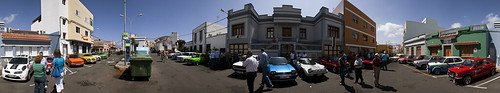 Exposición de coches clásicos en Cardones, Arucas. Isla de Gran Canaria