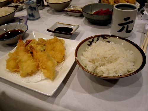 tempura & rice