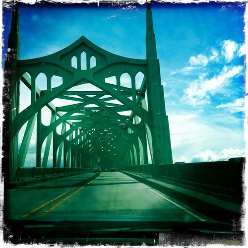 bridge to North Bend