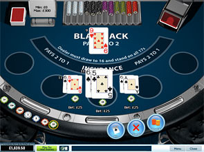 UK Blackjack Single Hand Win