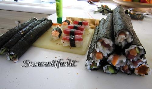Sushi wip... by sweetfelt \ ideias em feltro