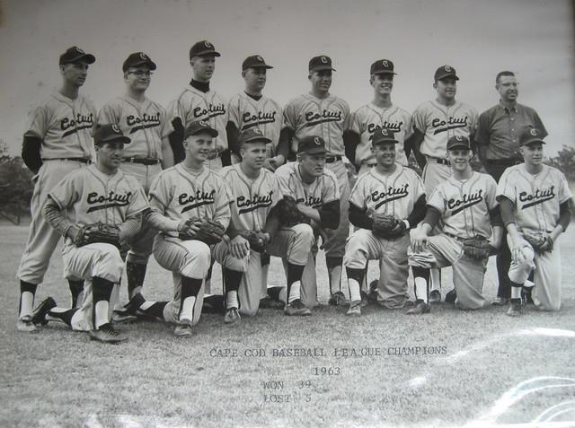 Cotuit, 1963 CCBL champions, 39-5