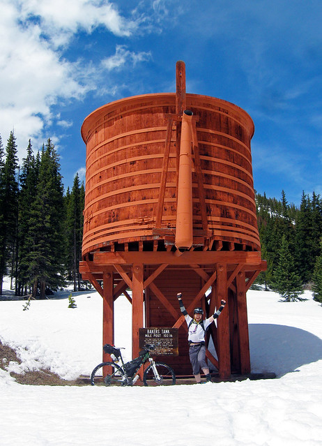 Bakers Tank, Boreas Pass