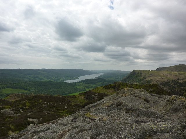 Coniston Water, seen from Holme Fell