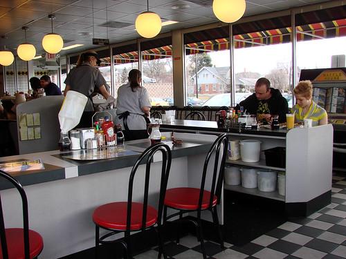 Inside the Waffle House