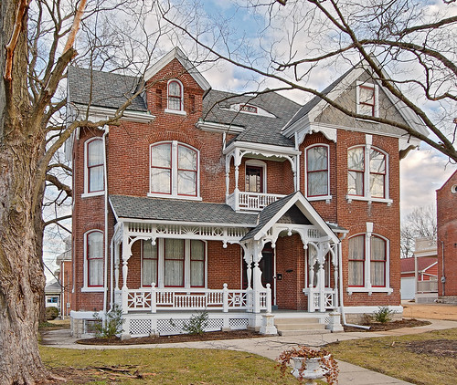 Downtown Washington, Missouri, USA -house 2