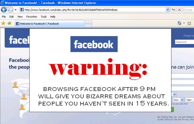 fbwarning