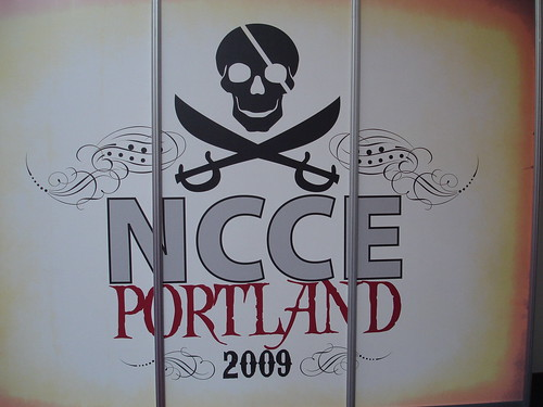 Argg ... NCCE pirate theme