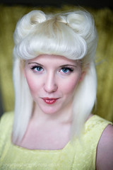 Katy Kamikaze (paulwrightphoto) Tags: uk portrait headshot retro stockton katykamikaze
