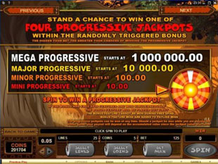 Mega Moolah casino to play