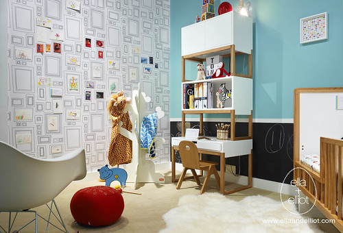 ella+elliot's Modern Toddler Room for Tas Design Build II by ella+elliot | Toronto | Canada.