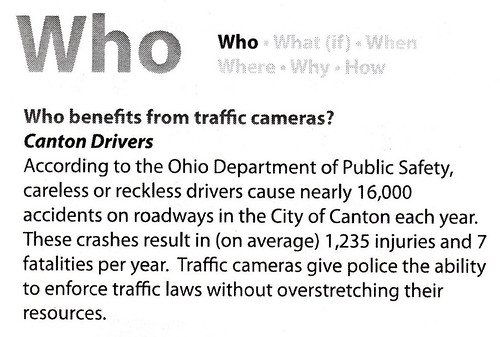 Redflex) Traffic Enforcement Cameras: Frequently Asked Questions