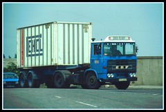 An Ever Ready ERF B-series (SemmyTrailer) Tags: truck container lorry erf essex artic batteries act barking bseries everready wjboyes