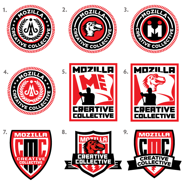 Mozilla Creative Collective: Logo Design, Round 1