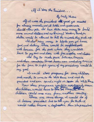 Confessions of a 4th Grade Socialist