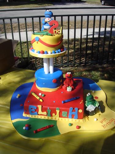 Sesame Street Cake :)