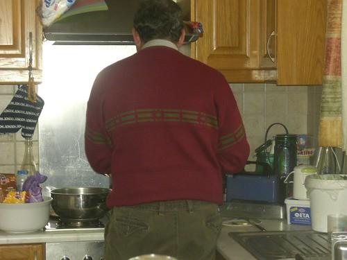 Mr Organically cooks