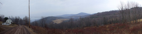 Dietz Mountain Road Panorama2