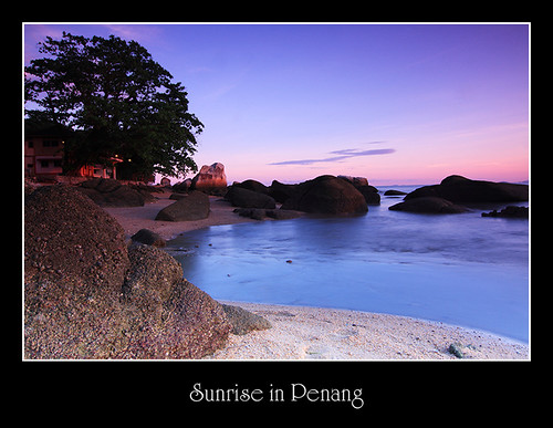 Sunrise in Penang