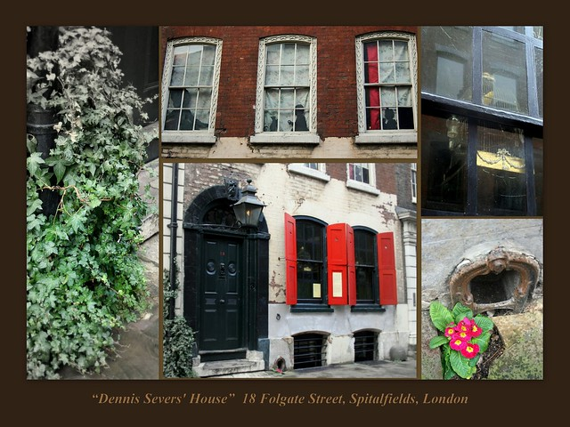 Dennis Severs' House - Collages