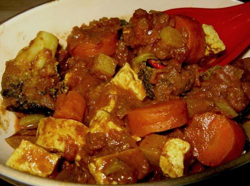 Veggie Korma & Brown Basmati Rice