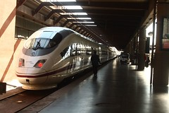 Train in Madrid