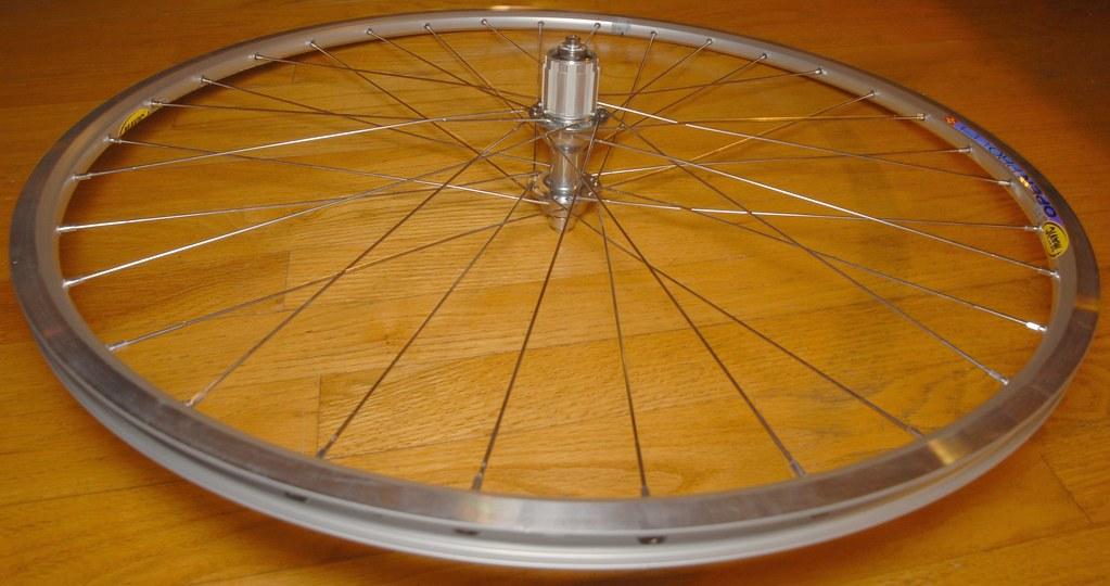 Mavic Open Pro wheel with Dura Ace hub