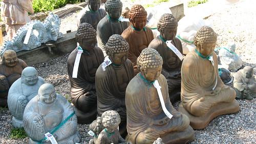 buddha asian zen statues