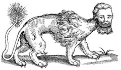 Bestiary Animali Fantastici Manticore (griffinlb) Tags: illustration medieval myth bestiary mythical