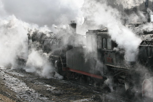 Zhalai Nuer Steam Trains (by niklausberger)