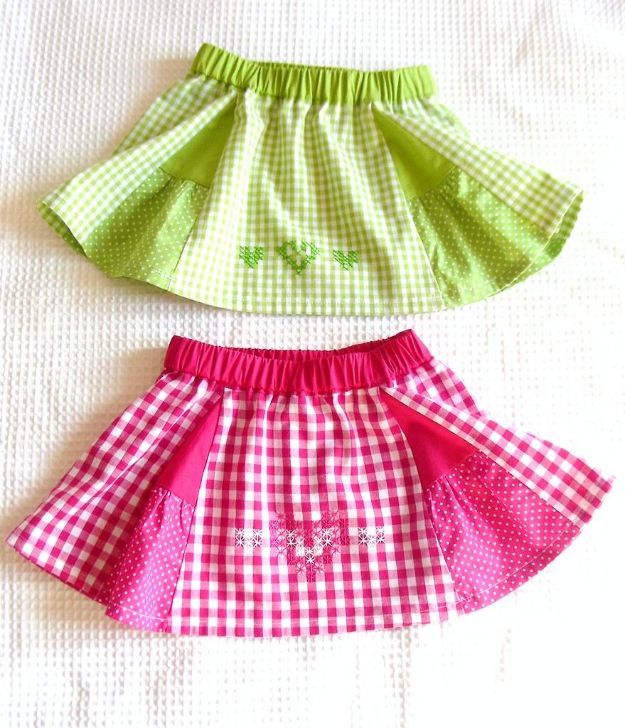 Baby Mini Skirts