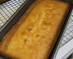 Toasted Coconut Pound Cake - Fresh from the Oven