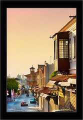 Sunrise in Rodos (Maciej - landscape.lu) Tags: old city blue streets cold colors contrast sunrise island vacances town big warm empty sony may vivid ile greece mai 2008 rodos rhodes dsl grece rhodos grecja a700 aplusphoto theperfectphotographer dslra700 sonydslra700