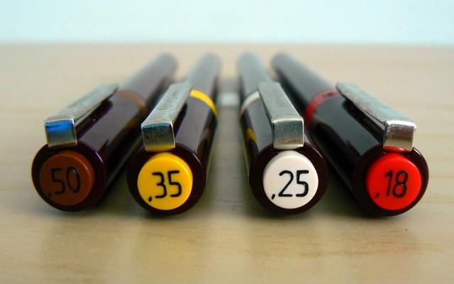 ミリペンおすすめ人気ランキングTOP3・口コミ・種類と選び方