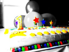 Happy Colours (mightyquinninwky) Tags: light sunlight window balloons stars table geotagged candles dof bokeh kentucky depthoffield birthdaycake shutters icing tablecloth frosting orton selectivecolor birthdaycandles beautifulday strawberrycake louisvillekentucky ohiorivervalley centralkentucky ohiorivercity jeffersoncountykentucky thebluegrassstate thecommonwealthofkentucky selcetivecolour geo:lat=38216503 geo:lon=85699775 anumberonecandle mynieces1stbirthday 1stbirthdaycandle largestcityinkentucky