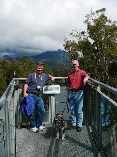 Geokashers, Scott and Lottie: Tahune Airwalk